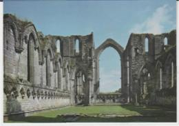 Postcard - Churches - Fountains Abbey, North Yorkshire, Presbytery Looking East - Unused Very Good - Postcards