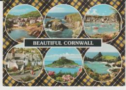 Postcard - Cornwall - Six Views - Posted  6th Aug 1982 Very Good - Postcards