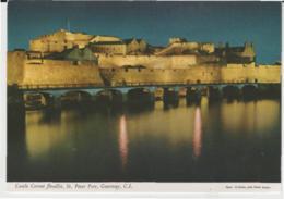 Postcard - Castle Cornet Floodlit, St. Peter Port, Guernsey, C.I. - Unused Very Good - Postcards