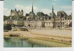 Postcard - Les Chateaux De La Loire - Saumur - Posted  19th Aug 1985 Very Good - Postcards