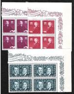 Liechtenstein 1943: Fürstenhochzeit (Franz Josef II & Gina) Zu 175-177 Mi 211-213 Yv 186-188 ** MNH (Zumstein CHF 20.00) - Liechtenstein