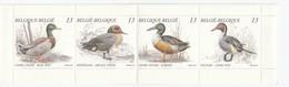 BIRDS BELGIUM 1989 Ducks Booklet Mi 2384-2387 MNH (**) #B85 - Canards