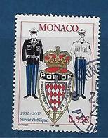 """Monaco YT 2345 """" Sûreté Publique """" 2002 Oblitéré - Monaco"""