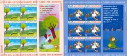VATICAN 2010 -  Europa 2010 - Illustrations Pour Enfants - 2 Feuillets De 6 - 2010