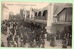 SOISSONS Le Marché Du Samedi , Rue Desboves - Soissons