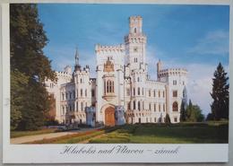 Hluboka Nad Vltavou - Zamek   Vg - Repubblica Ceca