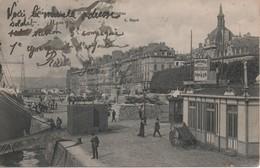 CPA - ROUEN - Le Port Et Le Quai De La Bourse - Rouen