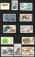 TAAF, Année Complète 1987. Etat: **. Poste Et PA - Unused Stamps
