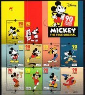 PORTUGAL, 2018, MNH, DISNEY, MICKEY MOUSE, SHEETLET - Disney