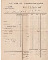 CABASSE / LA MATAVONIENNE / COOPERATIVE VINICOLE / DETAIL RECOLTE 1932 ET 1934 - Agriculture
