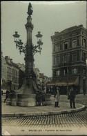 St Gilles : Maison Communale Et Fontaine De St Gilles / 2 Cartes - St-Gillis - St-Gilles