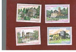 ITALIA - UN.1659.1662   - 1983  VILLE D' ITALIA  (SERIE COMPLETA  DI 4)   - NUOVI **(MINT) - 6. 1946-.. Repubblica