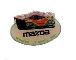 Mazda Winner Le Mans 1991 - Pin