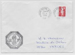 1994 - GENDARMERIE En BOSNIE - ENVELOPPE En FRANCHISE Du BPM 655 - SARAJEVO - BATAILLON FRANCAIS N2 Au DOS - Marcophilie (Lettres)