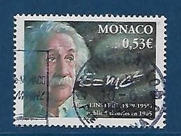 "Monaco YT 2484 "" Albert Einstein "" 2005 Oblitéré - Monaco"