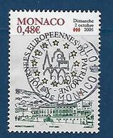 """Monaco YT 2504 """" Journées Du Patrimoine """" 2005 Oblitéré - Monaco"""