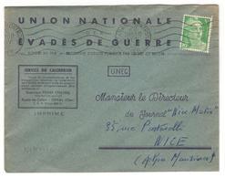 14032 - EVADES DE GUERRE - Marcofilia (sobres)