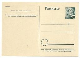 Entier Carte Postale Occupation Zone Française BADE . Neuve . - Französische Zone