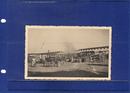 ##(DAN192)-2nd World War-Libya, Place To Identify-6/11/1940 Autoparco Commissariato-real Original Photo-unused - Libia