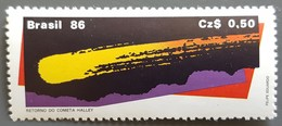 Brésil - YT N°1789 - Passage De La Comète De Halley / Espace - 1986 - Neuf - Brésil