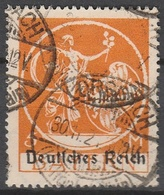 Deutsches Reich    .     136     .       O        .      Gebraucht - Gebraucht