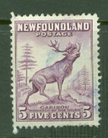 Newfoundland: 1941/44   Pictorial  SG280a   4c   [Perf: 12½]   Used - 1908-1947