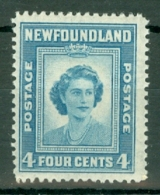 Newfoundland: 1947   Princess Elizabeth's 21st Birthday  SG293   4c   MH - Newfoundland