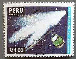 Pérou - YT N°868 - Passage De La Comète De Halley / Espace - 1987 - Neuf - Pérou