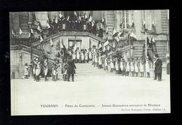 CPA 71 - Tournus - Fêtes Du Centenaire - Jeunes Grenadiers Attendant Le Ministre - Bourgeois Frères Chalon Sur Saône - Autres Communes
