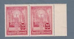 AUSTRIA  AUTRICHE ÖSTERREICH MNH** 1946   S. STEFANO 30+1,20 GR  PAAR - 1945-.... 2ème République