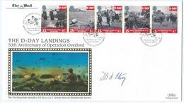 Enveloppe 1er Jour FDC 1944 Debarquement 1994 - FDC