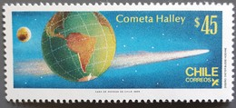 Chili - YT N°719 - Passage De La Comète De Halley / Espace - 1985 - Neuf - Chili