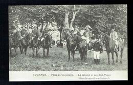 CPA 71 - Tournus - Fêtes Du Centenaire - Le Général Et Son Etat Major - Bourgeois Frères Chalon Sur Saône - Autres Communes