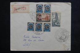 ALGÉRIE - Enveloppe En Recommandé Des Journées Colonna D'Ornano D 'Alger En 1951 Pour Sétif , Affr. Plaisant - L 22914 - Algérie (1924-1962)