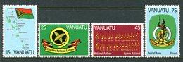 Vanuatu 1981 First Anniversary Of Independence Set MNH (SG 318-321) - Vanuatu (1980-...)