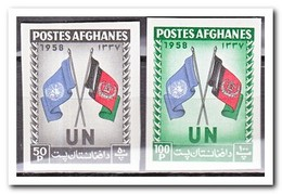 Afghanistan 1958, Postfris MNH, Day Of The United Nations, Flags - Afghanistan