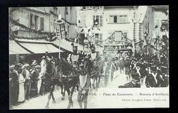 CPA 71 - Tournus - Fêtes Du Centenaire - Batterie D'Artillerie - Bourgeois Frères Chalon Sur Saône - Autres Communes