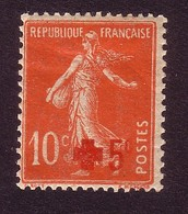 Y&T - N° 146 - Semeuse Surtaxe - Croix Rouge - 1914 +5c S 10c - Neuf* - France