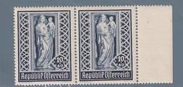 AUSTRIA  AUTRICHE ÖSTERREICH MNH** 1946   S. STEFANO 10+40 GR PAAR - 1945-.... 2ème République