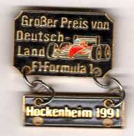 Pin's Formule 1  Ferrari Hockenheim 1991 Eaf - F1