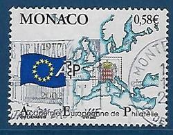 """Monaco YT 2346 """" Philatélie """" 2002 Oblitéré - Monaco"""