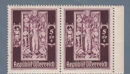 AUSTRIA  AUTRICHE ÖSTERREICH MNH** 1946   S. STEFANO 5+20  GR PAAR - 1945-.... 2ème République