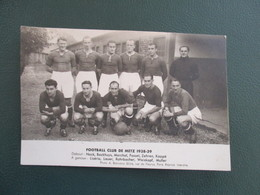 EQUIPE DE FOOT CLUB DE METZ 1938-39 - Football