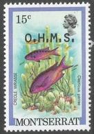 Montserrat. 1981 Official. 15c MNH. SG O44 - Montserrat