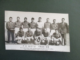 EQUIPE DE FOOT 57 FC METZ 1955-56 - Football