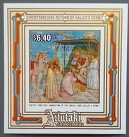 Aitutaki - YT BF N°58 - Noël / Giotto / Passage De La Comète De Halley / Espace - 1985 - Neuf - Aitutaki