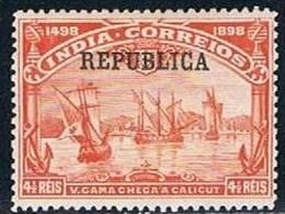 India, 1913, # 247, MH - Portuguese India
