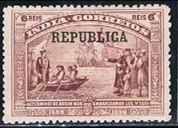 India, 1913, # 248, MH - Portuguese India
