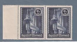 AUSTRIA  AUTRICHE ÖSTERREICH MNH** 1946   S. STEFANO 6+24  GR PAAR - 1945-.... 2ème République