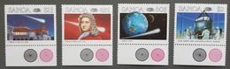Samoa - YT N°603 à 606 - Passage De La Comète De Halley / Espace - 1986 - Neufs - Samoa